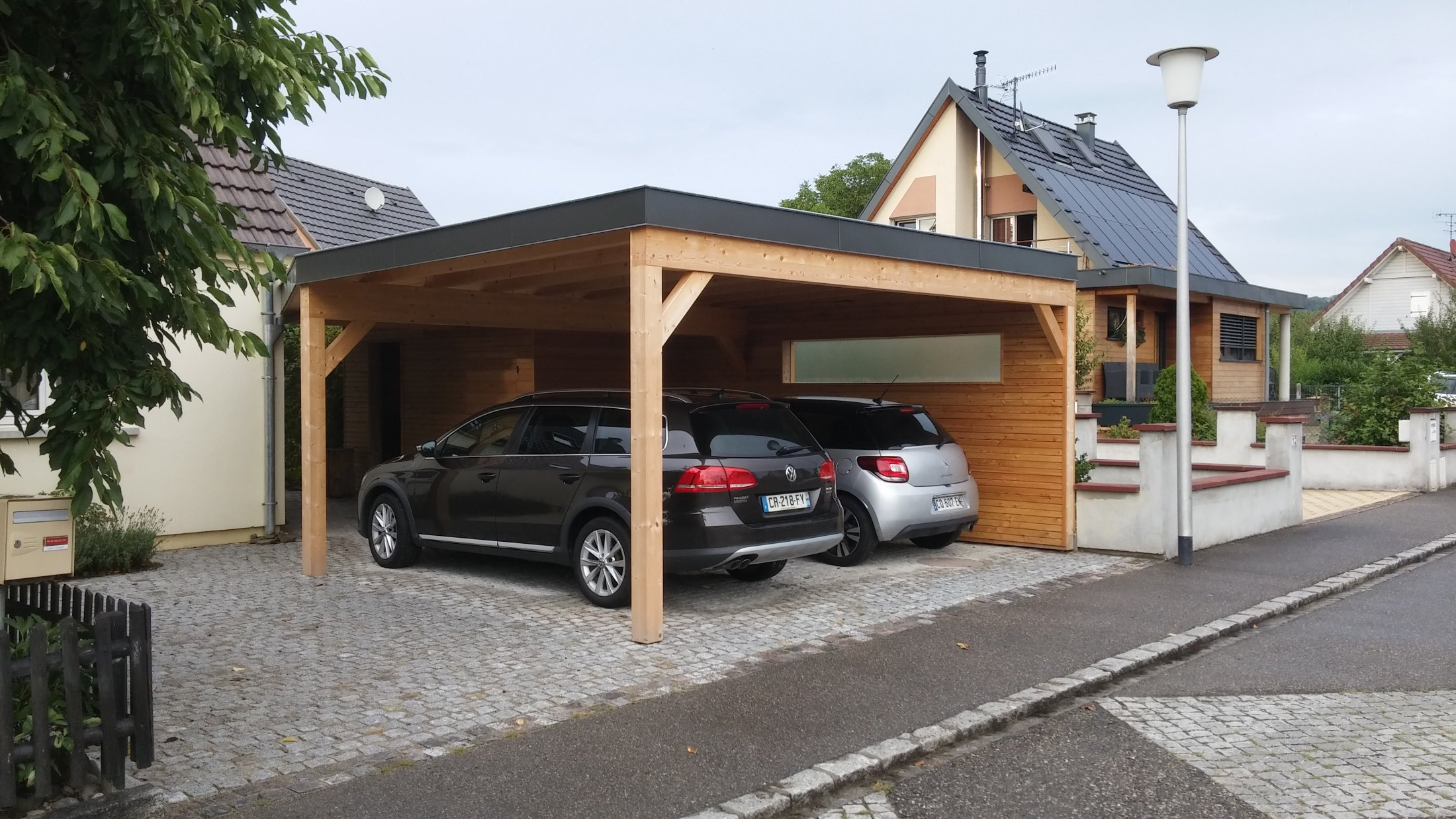 arkobois arkobois d finit avec vous votre projet carport ou garage. Black Bedroom Furniture Sets. Home Design Ideas