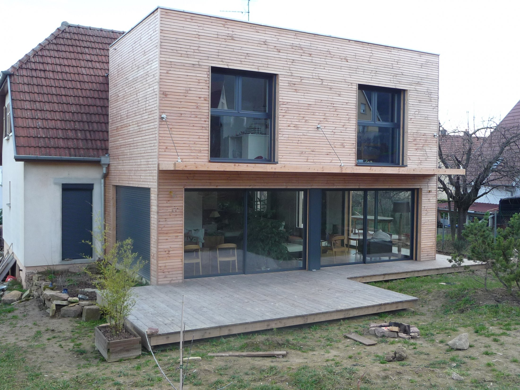 Arkobois notre sp cialit l 39 agrandissement de votre maison for Extension sur terrasse