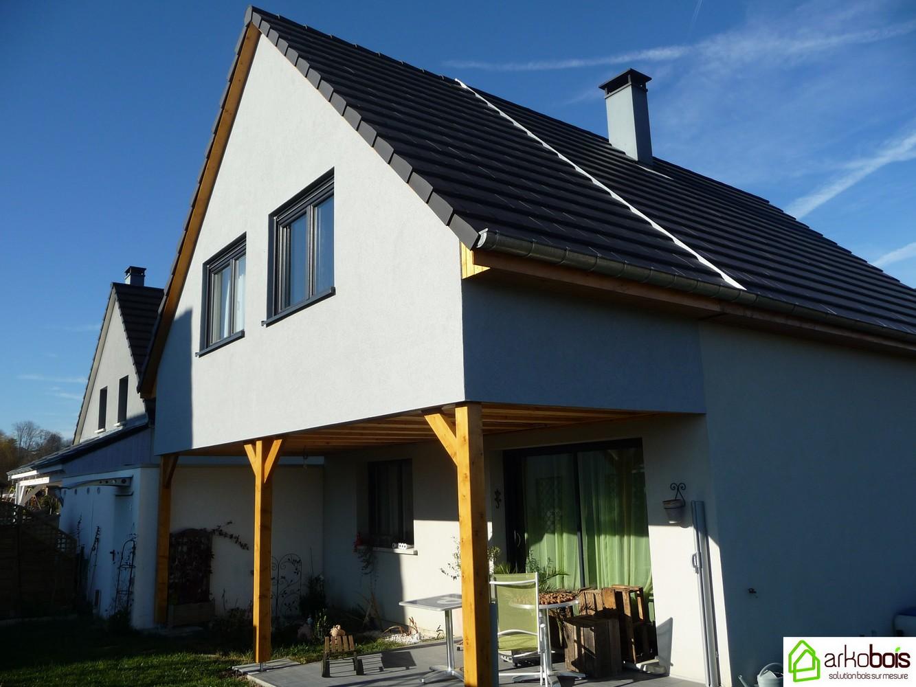 Arkobois notre sp cialit l 39 agrandissement de votre maison for Agrandissement maison 22