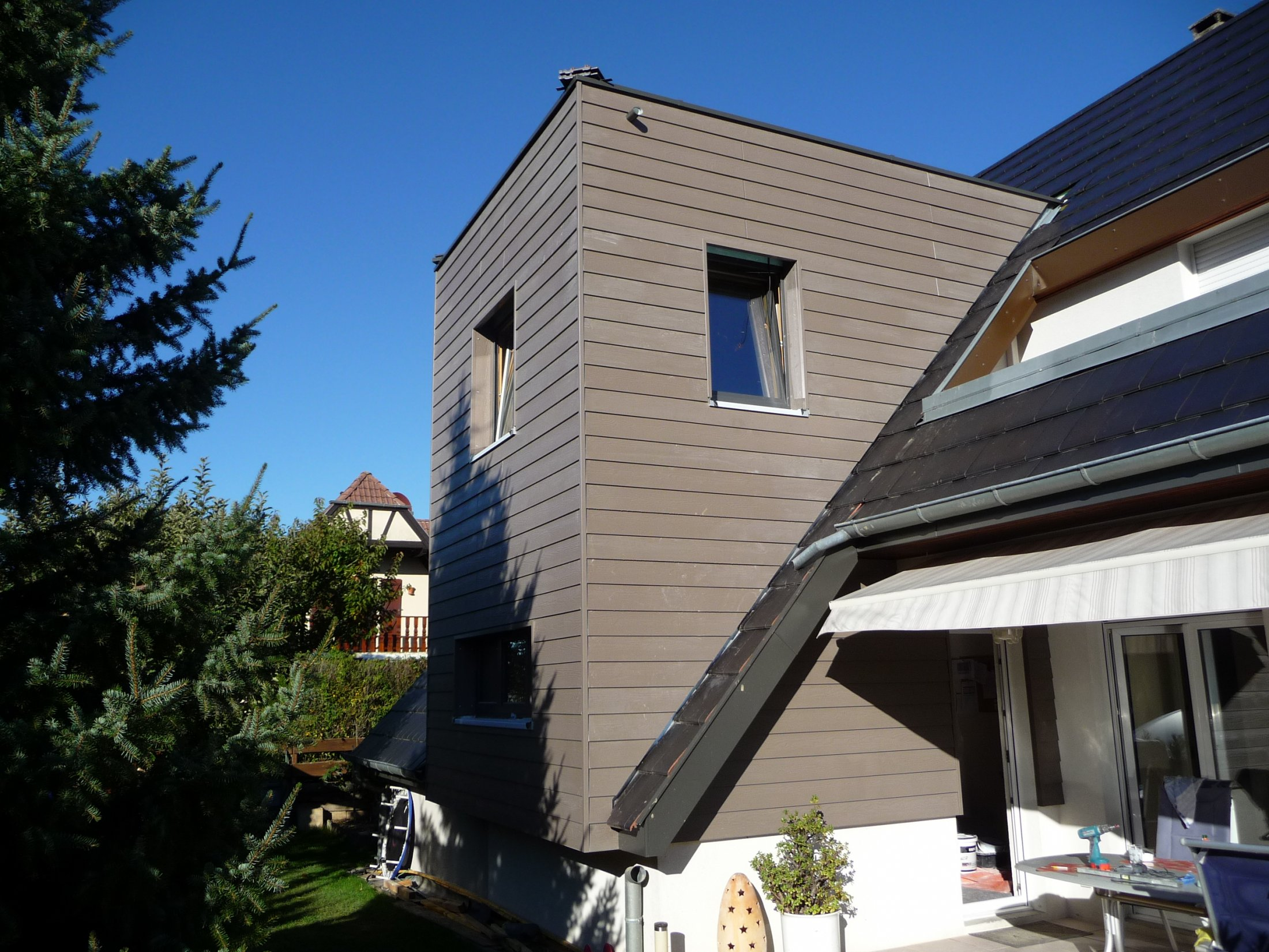 Arkobois notre sp cialit l 39 agrandissement de votre maison for Maison de claire