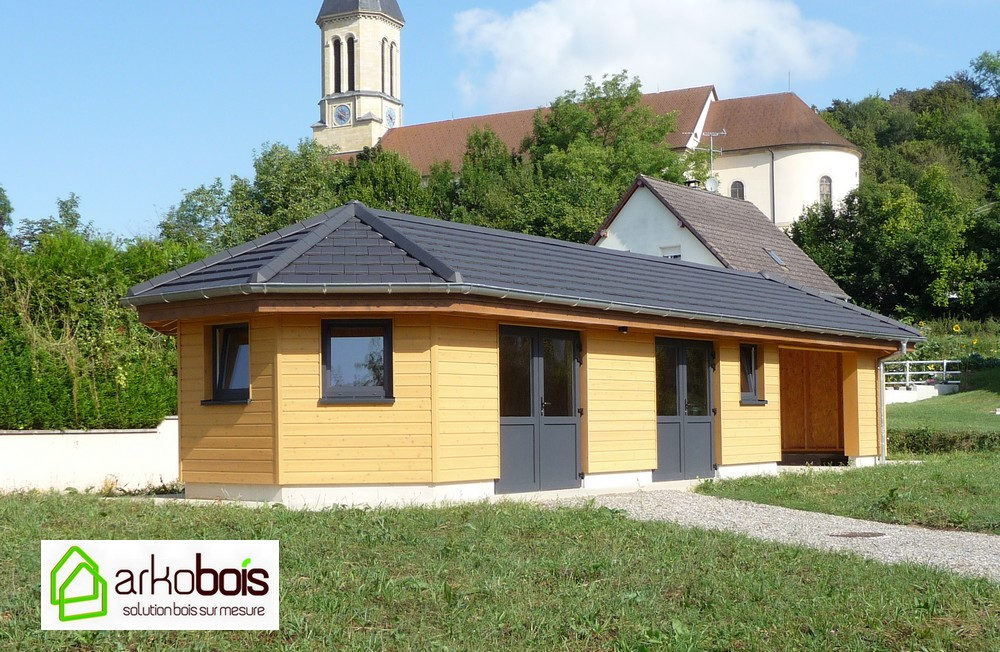 arkobois akobois vous fabrique votre abri de jardin en bois sur mesure. Black Bedroom Furniture Sets. Home Design Ideas