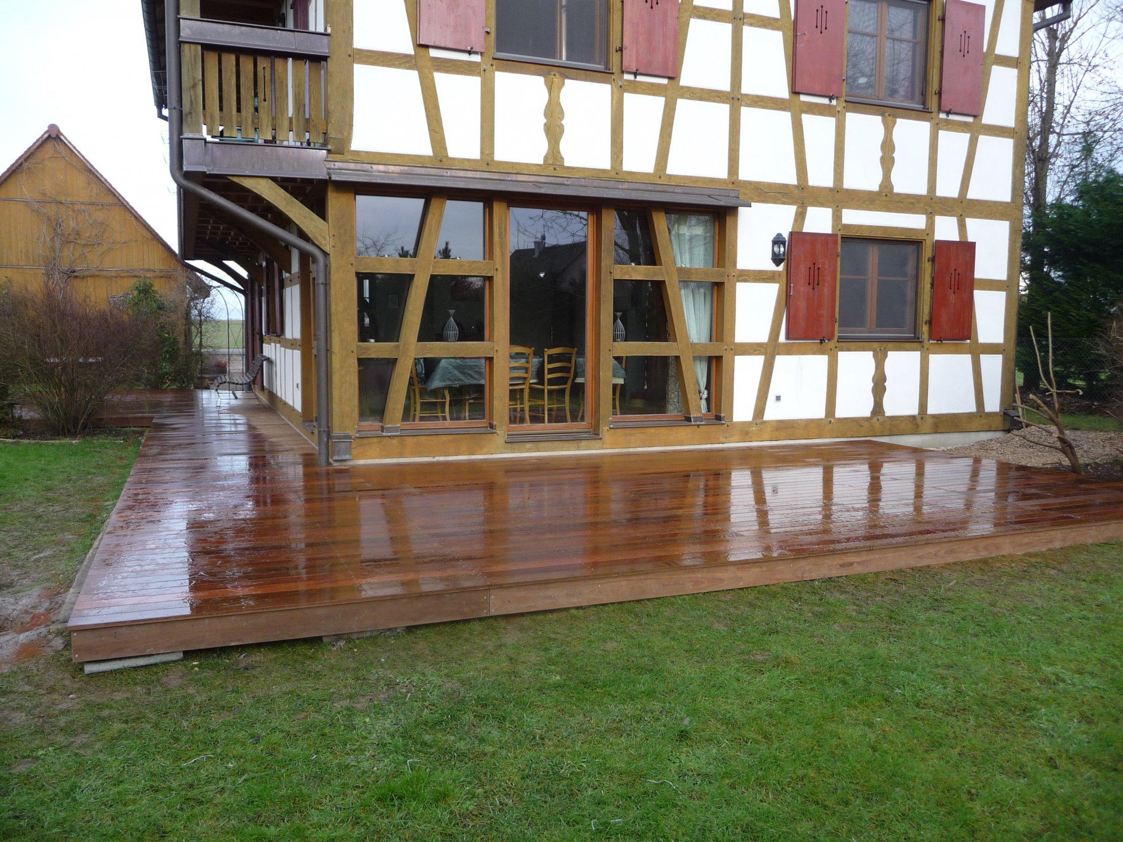 Arkobois nos terrasses en bois sur mesure for Avec terrasse