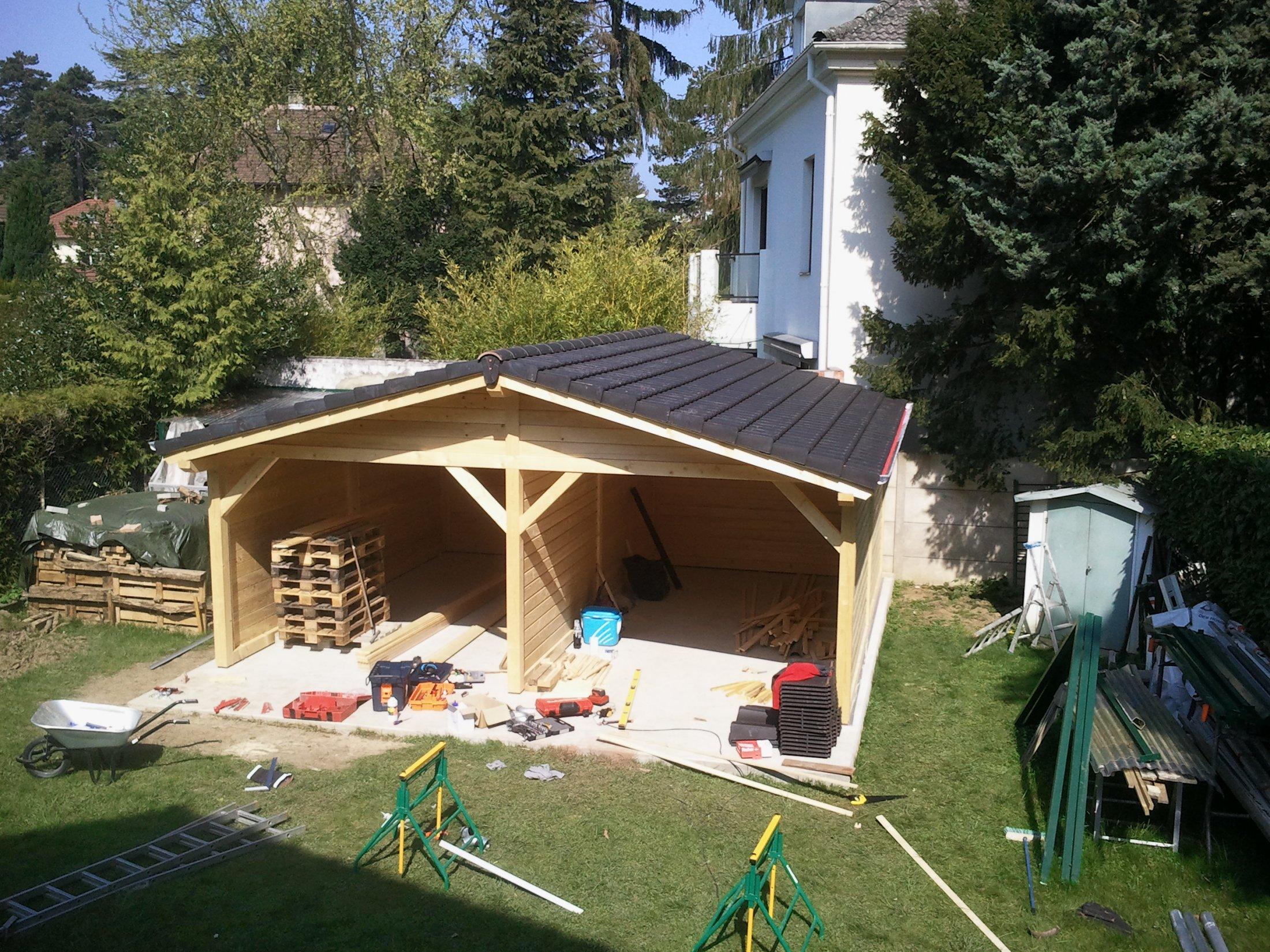 Arkobois akobois vous fabrique votre abri de jardin en - Abri de jardin bois sur mesure ...