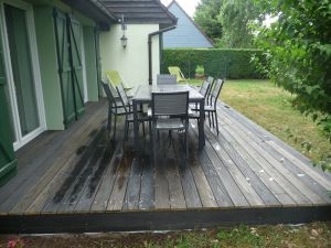Terrasse pin sans noeuds gris anthracite