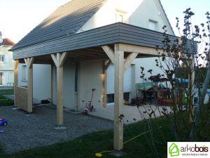 Couverture toit plat sur terrasse