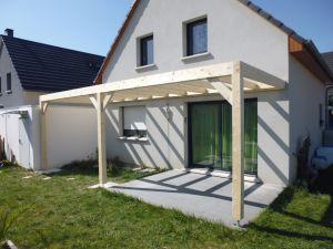 Création d'une extension au dessus d'une terrasse