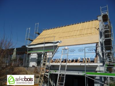 Isolation RGE sur toiture