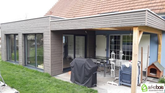Extension et Pergola