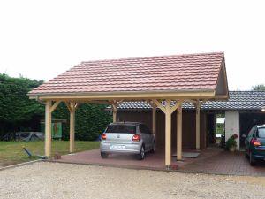 Carport 2 pans