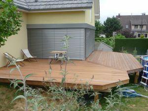 Terrasse Ipé sur pillotis