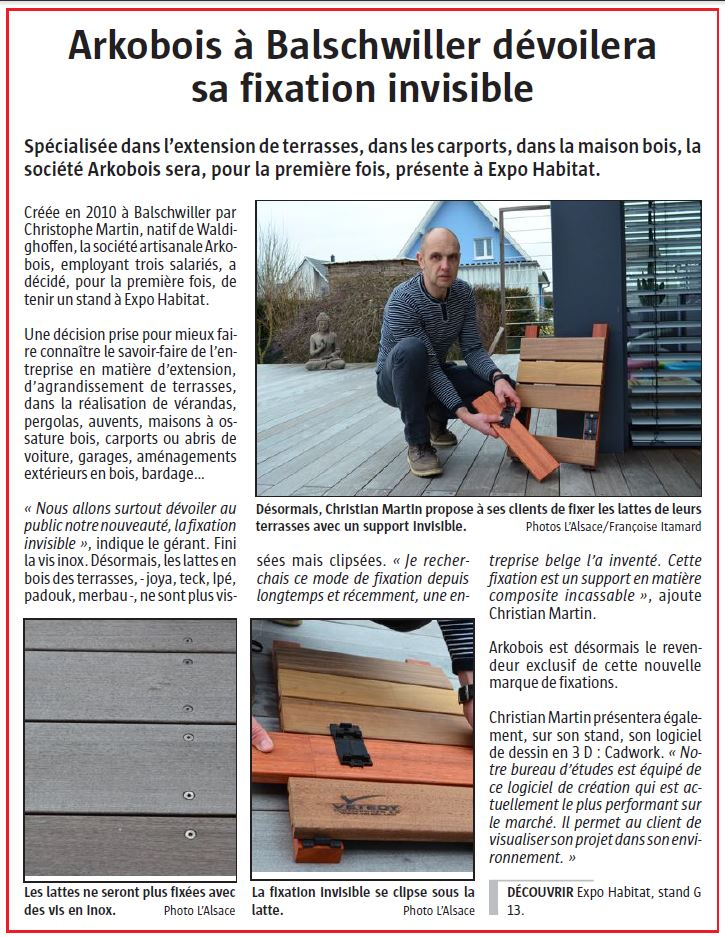 Article L'Alsace du 19/02/16