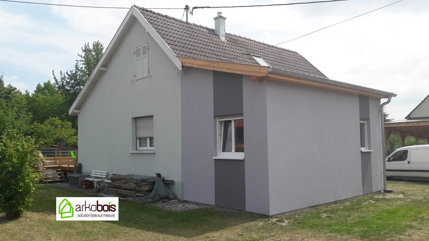 Extension Maison Terrasse Couverte arkobois — notre spécialité: l'agrandissement de votre maison
