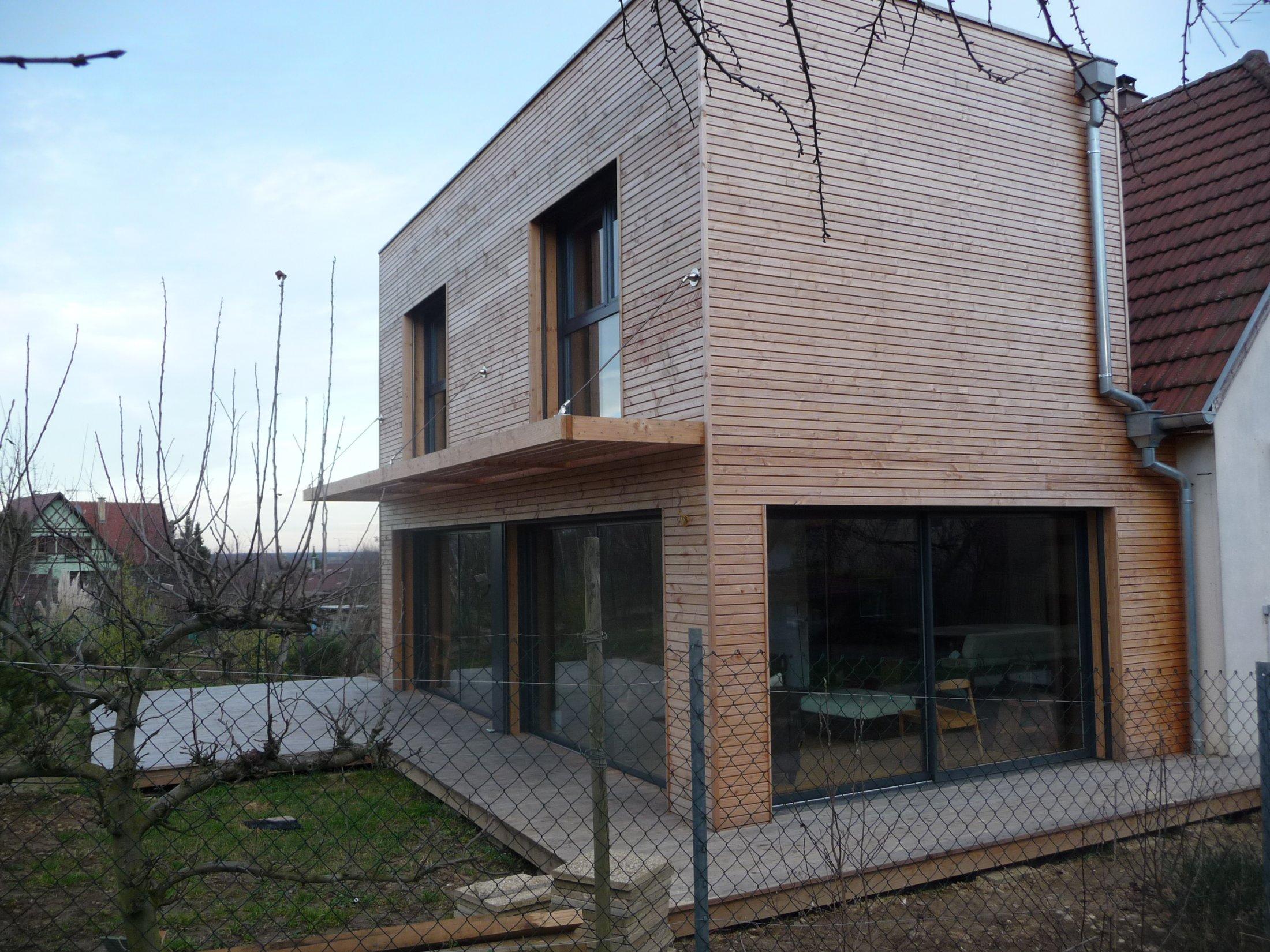 Arkobois notre sp cialit l 39 agrandissement de votre maison for Extension bois 2 niveaux