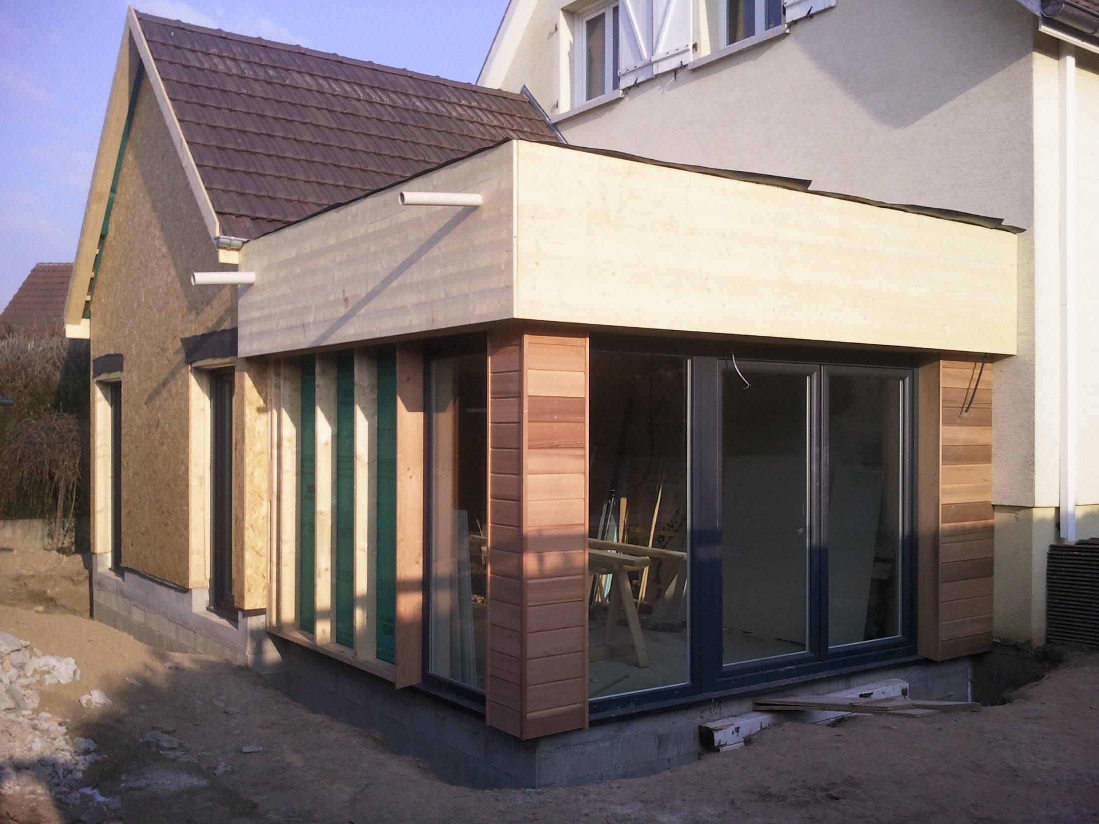 Arkobois notre sp cialit l 39 agrandissement de votre maison for Extension maison 3 murs