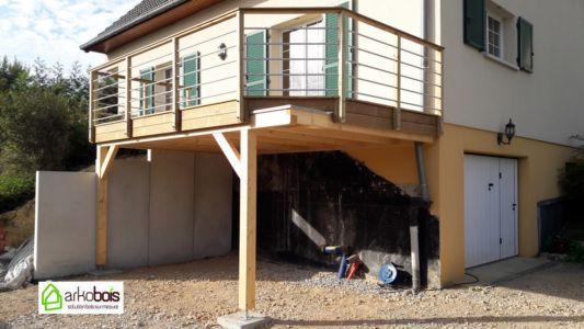 Terrasse / Carport