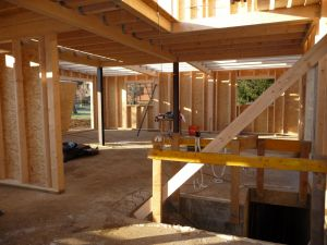 Montage maison ossature bois